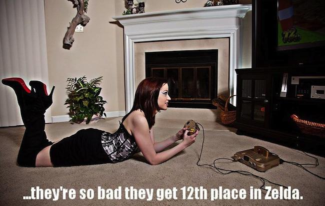 gamer-girl-zelda-cart
