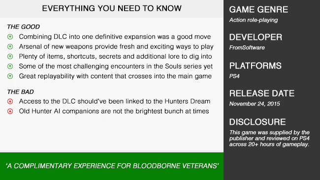 Bloodborne_DLC_Review_Summary